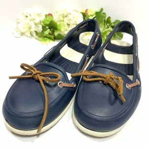 Crocs sling back shoes